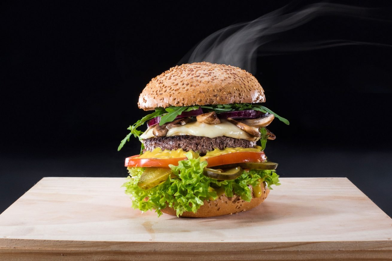 Food photoshoot for Uliczny Burger